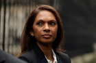 Gina Miller, a founder of investment management group SCM Private, arrives at the High Court for the start of her landmark lawsuit, in London. Photo / AP