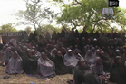 File image taken on May 12, 2014 from video by Nigeria's Boko Haram terrorist network, the alleged missing girls abducted from the northeastern town of Chibok. Photo / AP