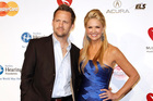 Keith Zubchevich and Nancy O'Dell. File photo / AP