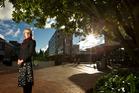 Former district councillor Karen Hunt led the Rotorua Lakes Council's inner city revitalisation project.
