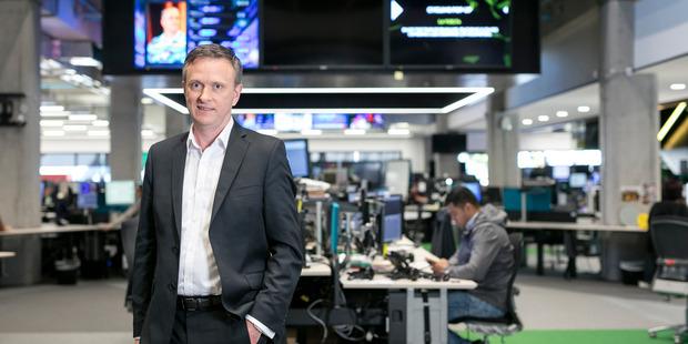TVNZ chief executive Kevin Kenrick.