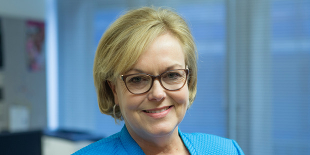 Police Minister Judith Collins says poverty is not a cause of crime. NZ Herald photo by Mark Mitchell.