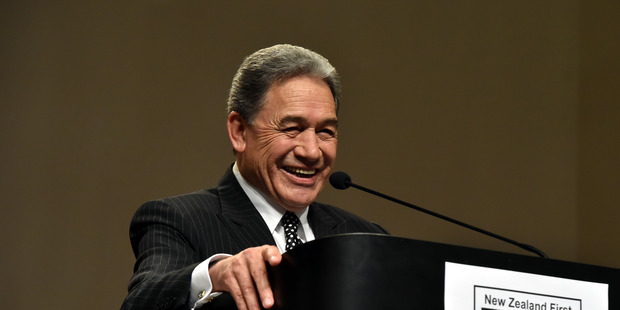 NZ First leader Winston Peters wants public sector jobs to move out of the big cities.