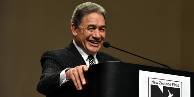 The takeout from this week's moves is that Winston Peters has been right all along. Photo / Gregor Richardson