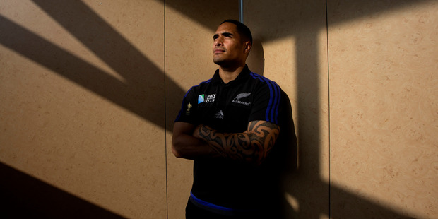 Aaron Smith's antics wouldn't have impressed Hillary Clinton. Picture / Brett Phibbs