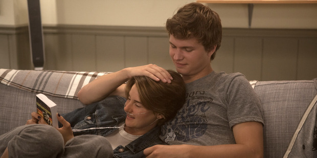 Shailene Woodley and Ansel Elgort starred together in the movie The Fault in Our Stars.
