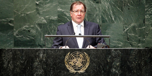 New Zealand's Minister of Foreign Affairs, Murray McCully, has talked tough on Syria in the past. Photo / Supplied