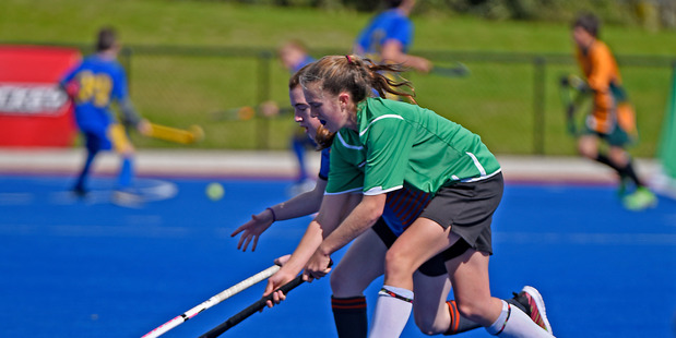 TRY IT: Hockey Have A Go day is at the Tauranga Hockey Centre tomorrow. PHOTO/FILE