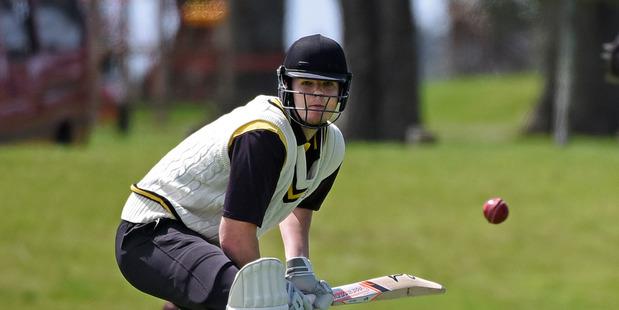 EARLY FORM: Greerton batsman Tom MacRury was in the runs last week. PHOTO/FILE