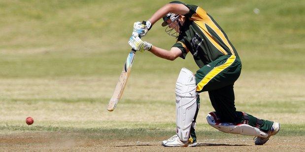 Mount Maunganui batsman Blair McKenzie blasted the first reserve-grade century of the new season. PHOTO/FILE