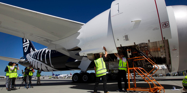 Air New Zealand shares closed down 4.7 per cent at $1.715, and are down 32 per cent this year. Photo / Alan Gibson