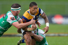 <note>DETERMINED: Te Aihe Toma in action for Bay of Plenty Steamers against Manawatu, will start at number 9 in the Bay of Plenty Steamers' side to take on Hawkes Bay in Napier. PHOTO: Stephen Parker</note>