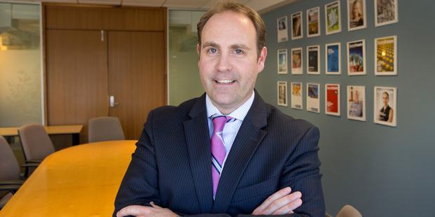 Institute of Directors chief executive Simon Arcus. Photo / Mark Mitchell