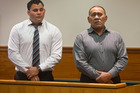 Robert Ngarimu Simpkins (left) and his father Robert Miroa Simpkins have been sentenced on assault charges.