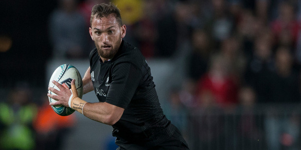 Loading Aaron Cruden will know by next week whether he is staying with the All Blacks, or heading to France. Photo / Getty