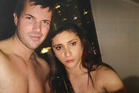 Photograph of Warriena Wright and Gable Tostee shown to the jury in Tostee's trial for murder. Photo / Supplied