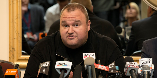 Kim Dotcom has suggested Wikileaks is the 'hottest place on the internet'. Photo / Brett Phibbs