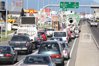 JAM: The amount of traffic on Tauranga roads is increasing. PHOTO/FILE