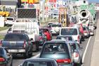 The amount of traffic on Tauranga roads is increasing.