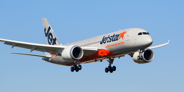 There are at least two Jetstar planes that won't be taking to the skies today. Photo / File