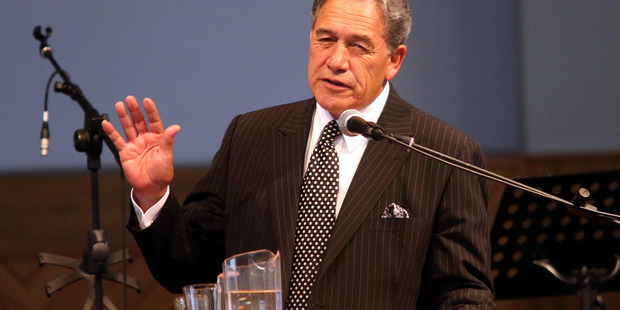New Zealand First leader Winston Peters. File Photo / Stuart Munro