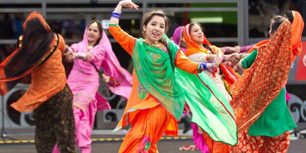 Students mark India's Independence Day at Waiariki. Photo / file.
