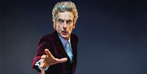 Peter Capaldi as the Doctor. Photo / Supplied