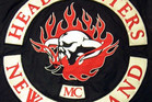 A Head Hunters New Zealand gang patch. Supplied.