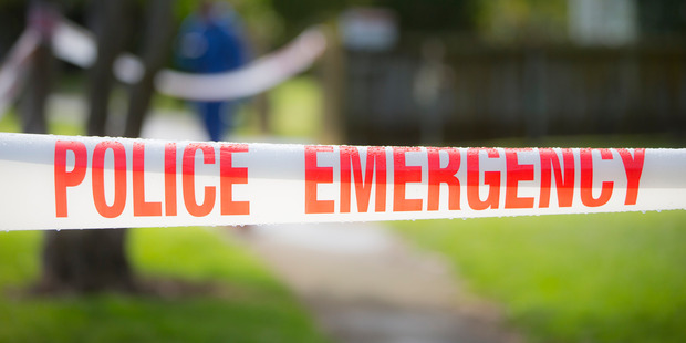 A man was arrested in Palmerston North this morning after attacking a woman with a knife.