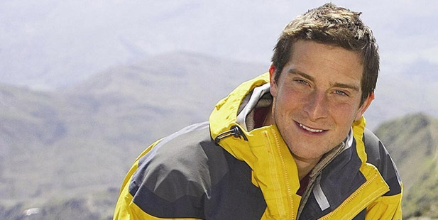 Survival expert Bear Grylls shares his tips on how to survive in the limelight. Photo / Supplied