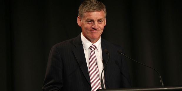 Finance Minister Bill English says the Government will provide medium-priced homes in Auckland for the next 10 years. Photo / Doug Sherring