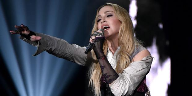 Pop icon Madonna. Photo / AP