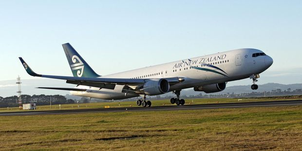 Loading An Air New Zealand 767-300 hit turbulence 40 minutes after take-off from Ho Chi Minh City. Picture / File