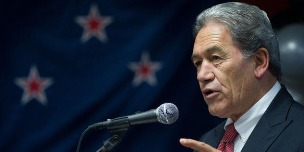 Northland MP Winston Peters.
