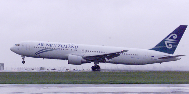 The Air New Zeland plane was hit by turbulence 40 minutes into a flight from Vietnam. Picture / File