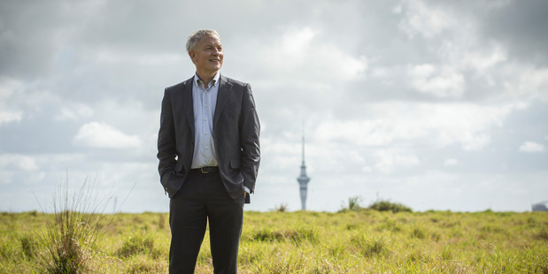 Auckland City mayor Phil Goff wants to phase out Len Brown's slogan for the city. Photo / Dean Purcell