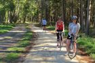 SPRING RIDE: This Sunday is the Tukituki Trail Walk, Run, Ride, Monster Treasure Hunt starting at 1pm in Russell Park, Waipukurau. Photo / Nicki Harper