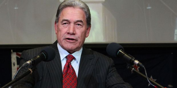 "Winston Peters says moving government offices to the regions would ""breathe life"" into local economies. Photo /  File"