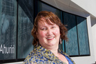 Laura Vodanovich, new director of MTG in Napier. 3 February 2015 Hawke's Bay Today Photograph by Paul Taylor HBG 04Feb15 - ROLE: Laura Vodanovich is getting to know her staff this week. PHOTO/P