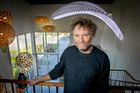 Lighting designer David Trubridge picked up an award for his Navicula Light.