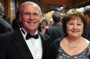 Waipoua Lodge owners Ian and Fran Farrant. Photo / John Stone