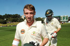 Australia's Phil Hughes, who tragically died in 2014 after being fatally struck by a bouncer. Photo / File