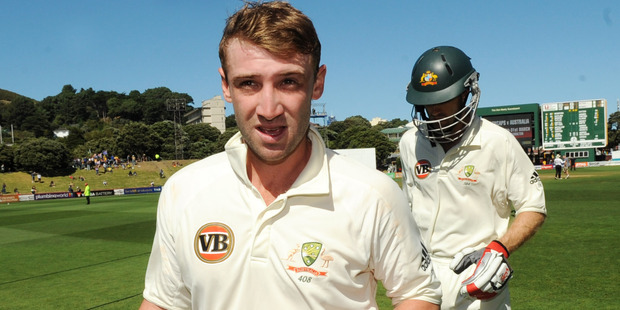 Aussie cricketer Phillip Hughes was struck by a bouncer and died soon after in November 2014. Photo / NZPA