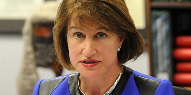 Dame Lowell Goddard, pictured when she was Chair of the Independent Police Conduct Authority in 2010.