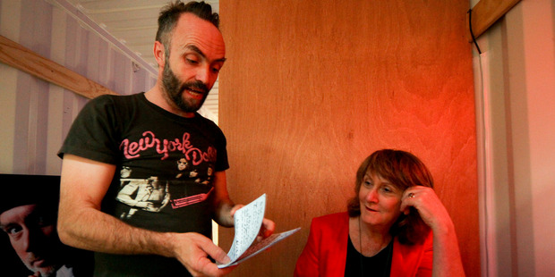 UK artist Simon Wilkinson tells Hawke's Bay Today assistant editor Linda Hall about The Cube.