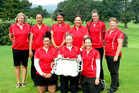 VICTORIOUS BAY: The Hawke's Bay women's golf team which was unbeaten at the weekend. PHOTO/SUPPLIED