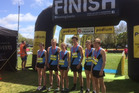 PHOTO CALL: The winning mixed school team at the Rotorua Ekiden at the weekend (from left) Sarah Matthews, Ethan Gillespie, Sophie McCarthy, Charlie Waddy, Brittney Matthews and Jack Gay.