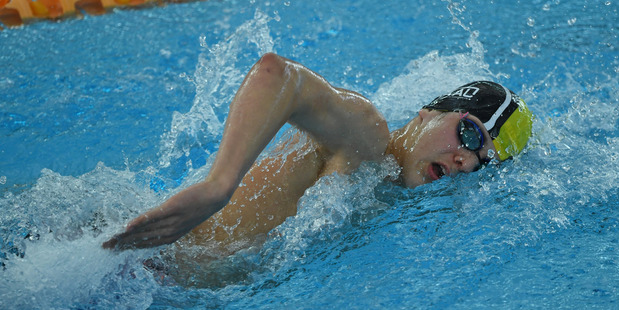 Lochlainn O'Connor set four New Zealand records at the New Zealand Pool Rescue Championships in Auckland.