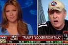 Former Boston Red Sox pitcher and current Donald Trump supporter Curt Schilling went on Fox Business Network to defend the candidate. Photo / YouTube.