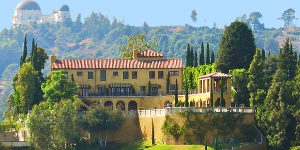 The Villa Sophia was a location in Entourage. Photo / Supplied